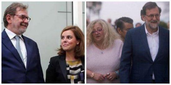 """Soraya, ¿qué le has hecho a tus amigos de El País? """"La foto de Rajoy con familias de niñas asesinadas es una obscenidad"""""""