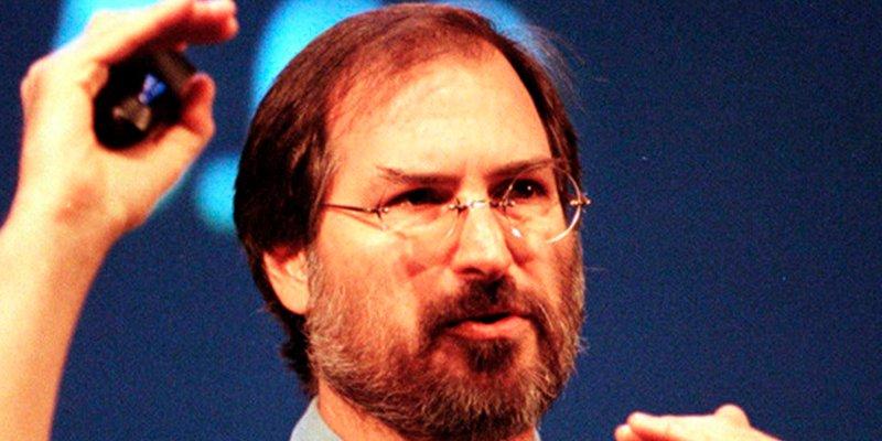 45fdc61291e Steve Jobs, un hombre sin vehículo propio y con faltas de ortografía, que  triunfó