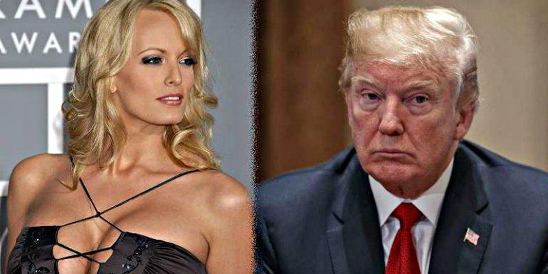 La cachonda Stormy Daniels le hace un 'Lewinsky' al presidente Donald Trump