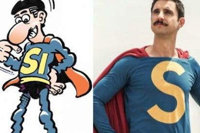 Superlópez es independentista: sus lectores lamentan que su creador, un charnego, ponga a su personaje al servicio de la causa