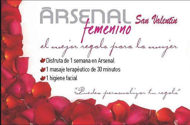 Regala deporte y bienestar en San Valentín con Arsenal Femenino