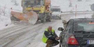 Pronóstico: La durísima semana que nos espera con el temporal de nieve y frío