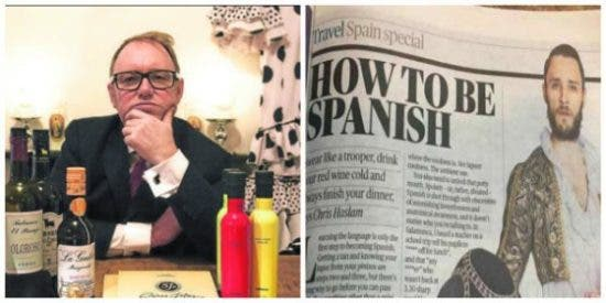 El cronista de 'The Times', que destripó a los españoles, se rinde con humor