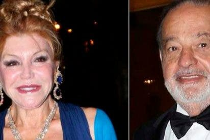 La pareja del año en el Ritz: Tita Cervera y Carlos Slim