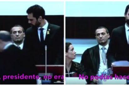 El épico zasca de la decana de abogados catalanes a Torrent, el brazo tonto del Parlament, incendia al separatismo