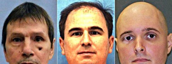 Los brutales crímenes que llevaron a la pena de muerte a los tres presos en EEUU