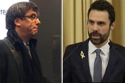 El portazo en las narices que le ha dado Torrent al trasnochado Puigdemont