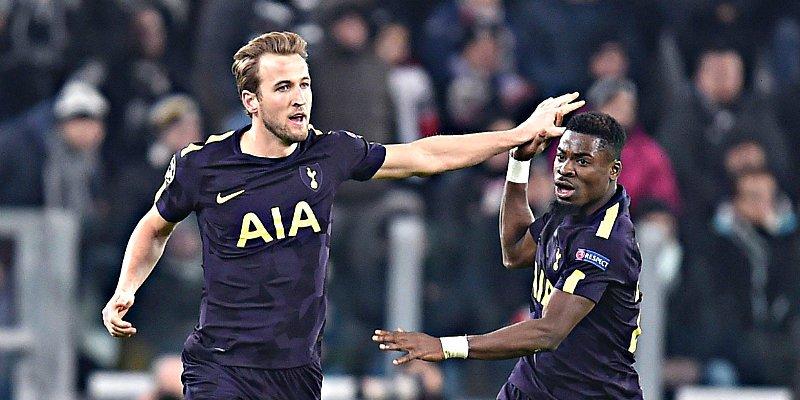 Champions: El Tottenham saca los colmillos frente a la Juventus
