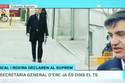 Catalanes que se sienten españoles interrumpen este directo de TV3