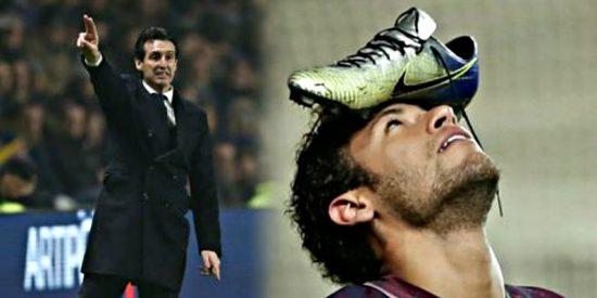 """Unai Emery: """"Neymar no se opera y no está descartado ante el Real Madrid"""""""