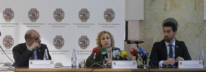 La rectora de la UPSA, partidaria del acceso unificado a la Universidad en toda España