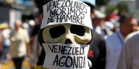La escalofriante foto que muestra los efectos del hambre en la Venezuela chavista