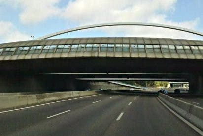 Una mujer, que caminaba por la M30, muere atropellada a la altura del puente de Ventas
