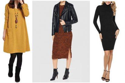 Vestidos baratos de invierno por menos de 36 €