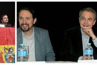 Zapatero se quita la careta y compadrea con Pablo Iglesias en apoyo al sátrapa de Evo Morales