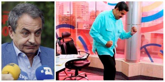 El País le sacude una buena leche a Zapatero por su insulto permanente a los opositores de Maduro