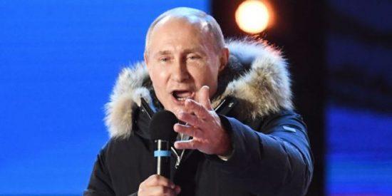 Vladimir Putin obtiene una cómoda victoria en las elecciones presidenciales de Rusia