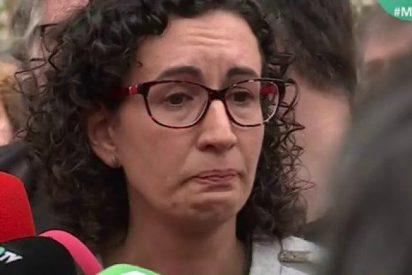 La llorica Rovira tira de 'suprema' cobardía y anuncia por carta que planta al juez Llarena