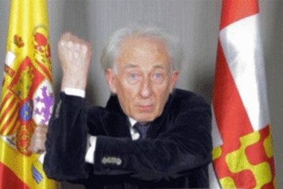 Albert Boadella agradece la marranada que unos 'indepes' le han hecho en su casa
