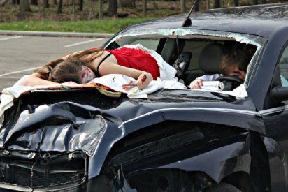 Muerte en la carretera captada en directo