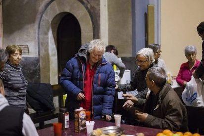 Santa Anna vuelve a abrir de noche para acoger a personas sin hogar