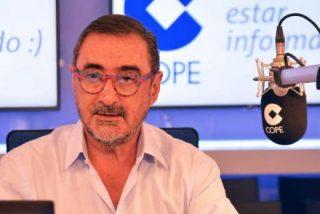 """Carlos Herrera no se corta: """"La TV3 es violencia"""""""