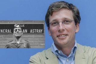 El alcalde Almeida restituye el nombre de la calle General Millán Astray y el rojerío se pone histérico