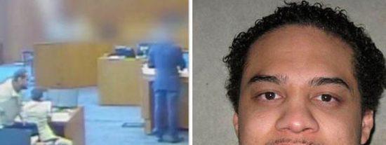 Este gángster muere abatido a tiros tras lanzarse sobre un testigo en el tribunal