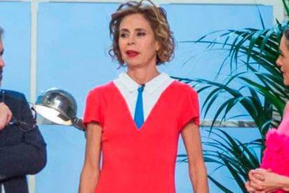 La inquietante visita de Ágatha Ruiz de la Prada al taller de 'Maestros de la costura'