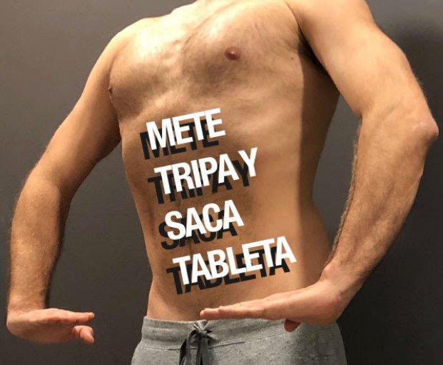 Mete tripa y saca tableta. El arte de los abdominales que mejoran la salud y la belleza de la cintura