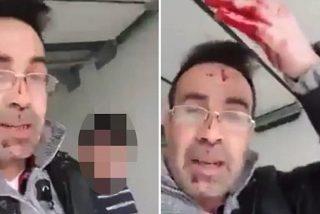 El brutal vídeo del refugiado que degüella a su esposa: