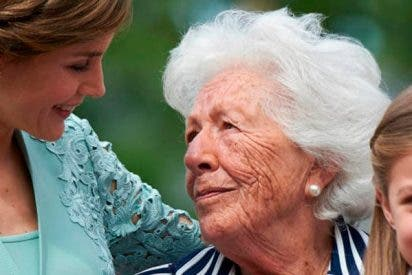 A la abuela de la Reina Letizia no le gusta ir a Zarzuela