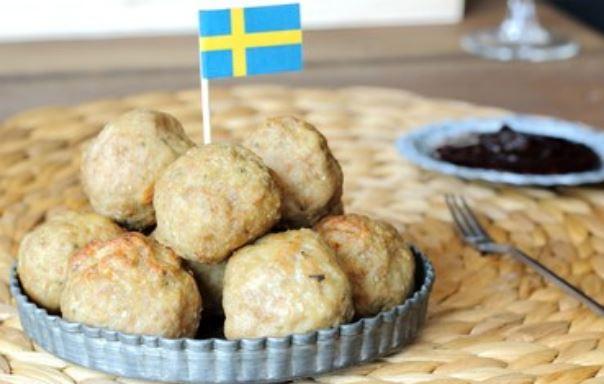 albóndigas suecas
