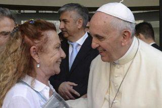 """Alicia Barrios: """"El padre Jorge limpió la mugre del Vaticano"""""""