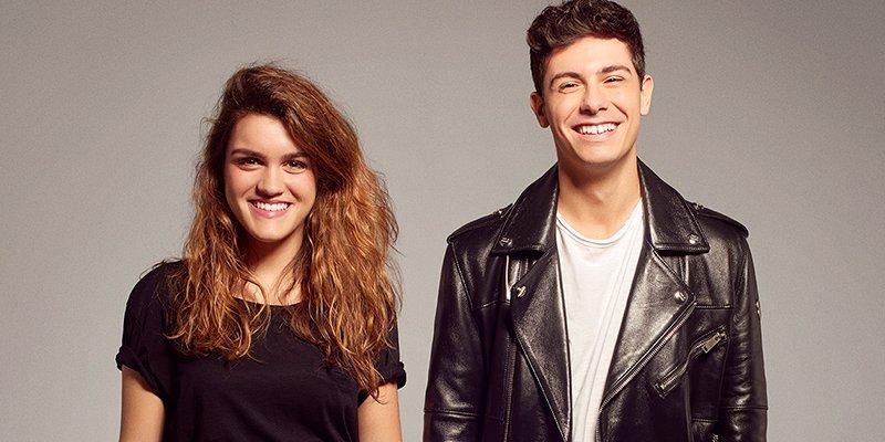 Así posan Amaia y Alfred para el Festival de Eurovisión