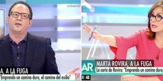 Al separatista de cuota de Mediaset se le va la cabeza: usa a la asesina de Gabriel para defender a los fugados