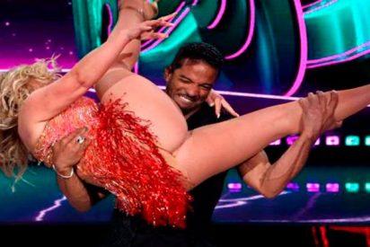 Anastacia deja asfixiado a este atribulado bailarín en 'Dancing with stars'