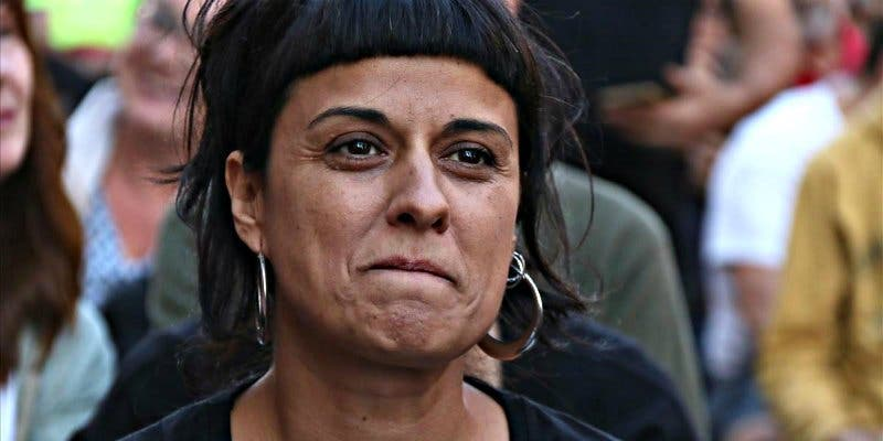 El inesperado golpe de Anna Gabriel por meter la pata un medio español