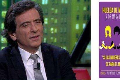 """Arcadi Espada pone patas arriba la huelga feminista: """"El manifiesto es monjil y putrefacto"""""""