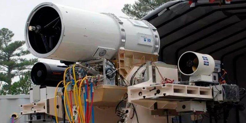 El ejército de Estados Unidos ya cuenta con vehículos con armas láser