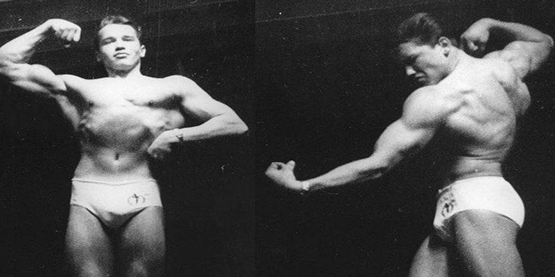Así de cuadrado estaba ya Arnold Schwarzenegger a los 16 años