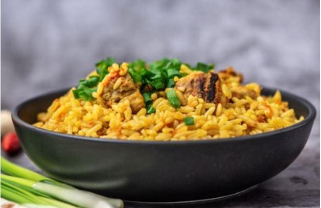 arroz con cordero