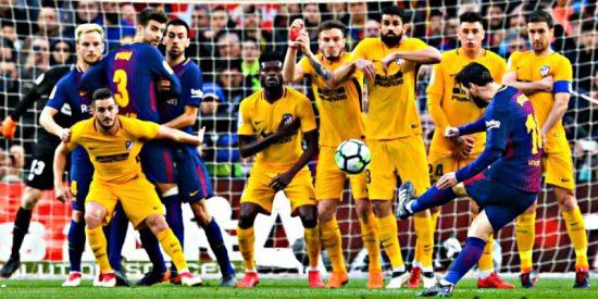 La pifia en la barrera que permitió a Messi marcar su golazo al Atlético Madrid