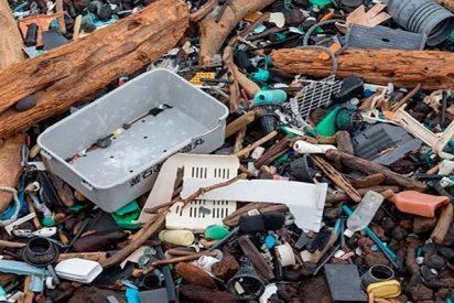 La 'isla' de basura del Pacífico ya es casi es del tamaño de México