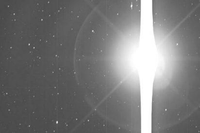 Este es el brillante aspecto de la Tierra vista a 151 millones de kilómetos por el telescopio Kepler
