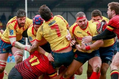 Rugby: Bélgica y un árbitro patoso frenan el sueño Mundial de los 'Leones'