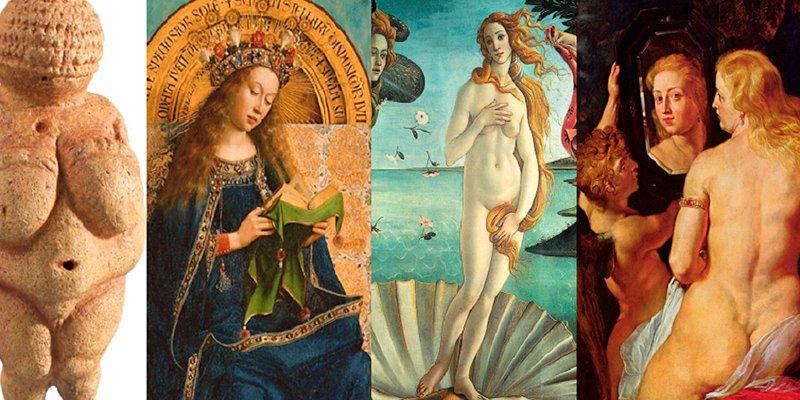 ¿Sabes cómo ha cambiado el concepto de la mujer 'ideal' a lo largo de la historia?