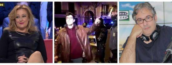 """Dos tertulianos estrella de Atresmedia arropan a los golpistas: """"No vi que hubiera ninguna rebelión violenta en Cataluña"""""""