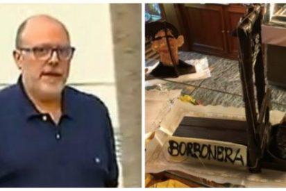 Un editor golpista promueve una guillotina para decapitar a los Borbones