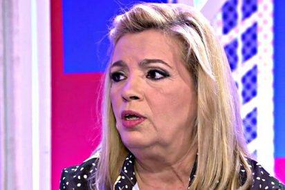 "Carmen Borrego: ""Es totalmente falso que mi hija tenga un tumor"""